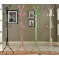 12-Hook Metal Hat/Coat Stand