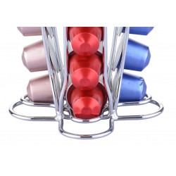 40 Capsule Coffee Pod Holder Tower Stand Rack