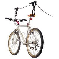 Garage Ceiling-Mount Bicycle Lift
