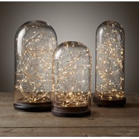 2 x LED Copper Wire String Lights