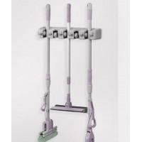 Wall Mounted Broom or Mop Organiser