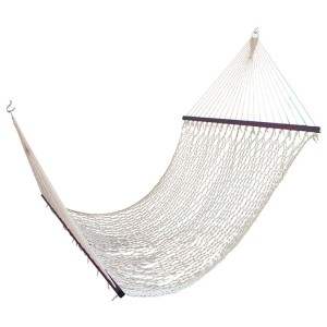 Cotton Netted Double Hammock Bed