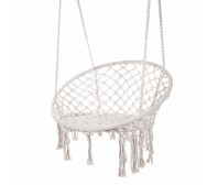 Cotton Netted Hammock Chair Round