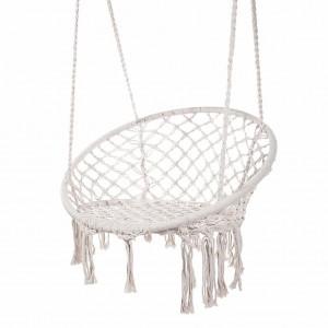 Cotton Netted Hammock Chair Round