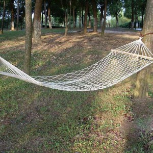 Cotton Netted Single Hammock Bed