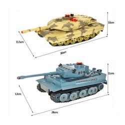 Pair of Radio Control Tanks